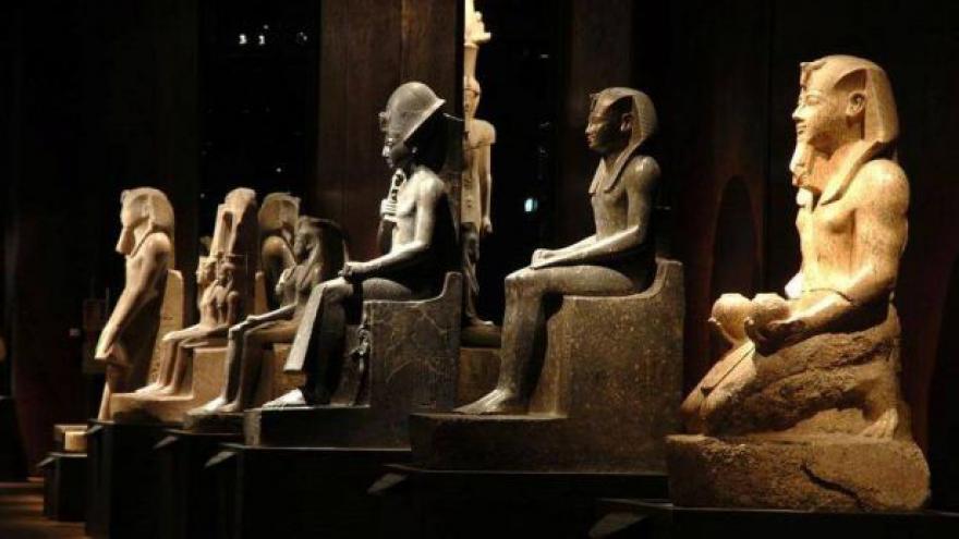 Video Egyptské muzeum v Turíně skončilo s rekonstrukcí