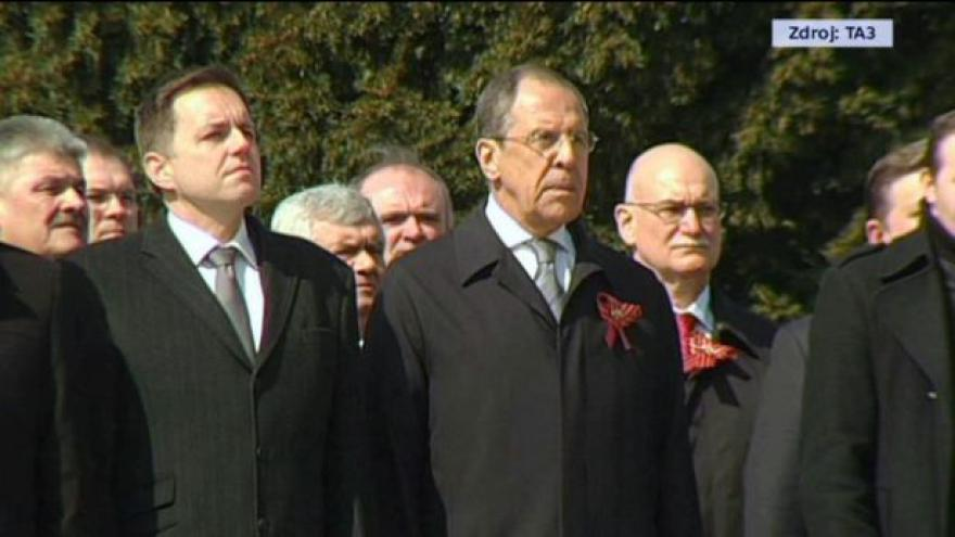 Video Sergej Lavrov na Slovensku: Je třeba hlídat dohody z Minsku