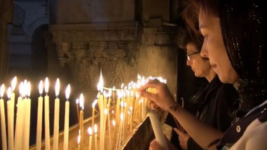 Video Velikonoce v Jeruzalémě