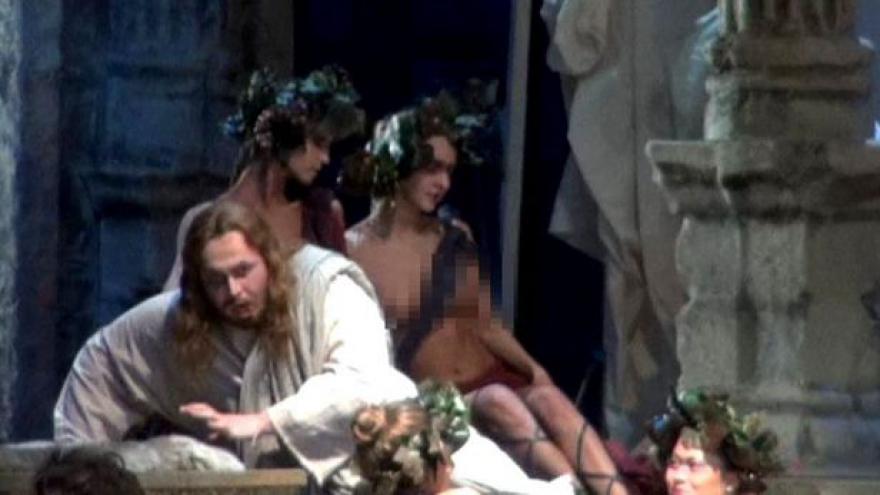 Video Protesty kvůli netradiční inscenaci Wagnerovy opery v Rusku