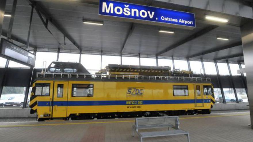 Video Na letiště vlakem? Jedině v Ostravě