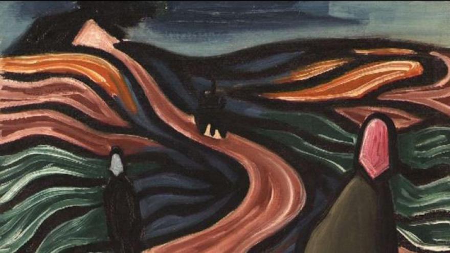 Video 70. výročí konce války v ostravské Galerii výtvarného umění