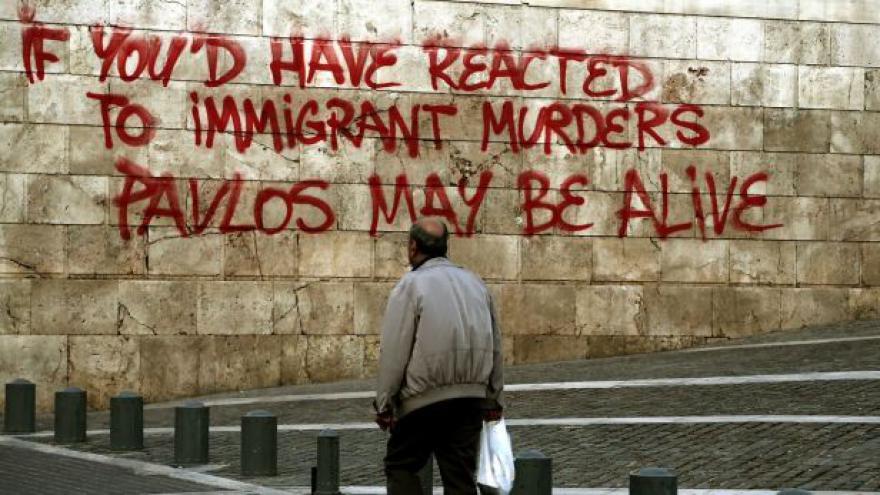 Video V Řecku začal proces se Zlatým úsvitem
