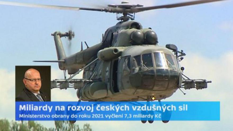 Video Jaroslav Štefec: Vzdušné síly jsou stavěné spíše na mírové služby