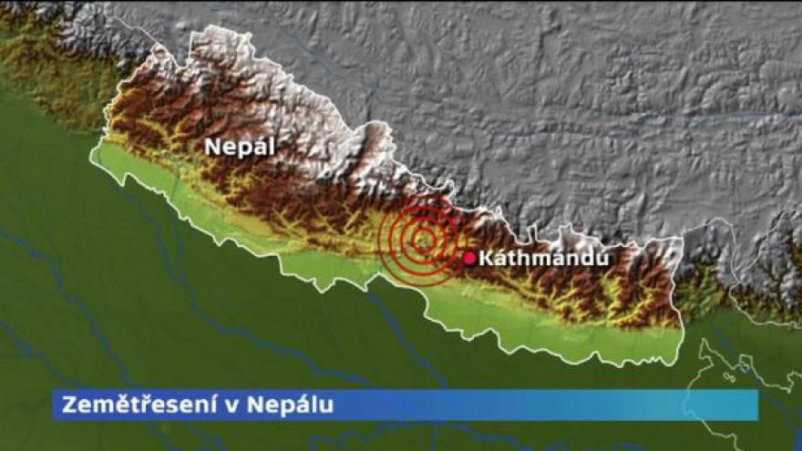 Video Speciální vysílání ČT24 k zemětřesení v Nepálu