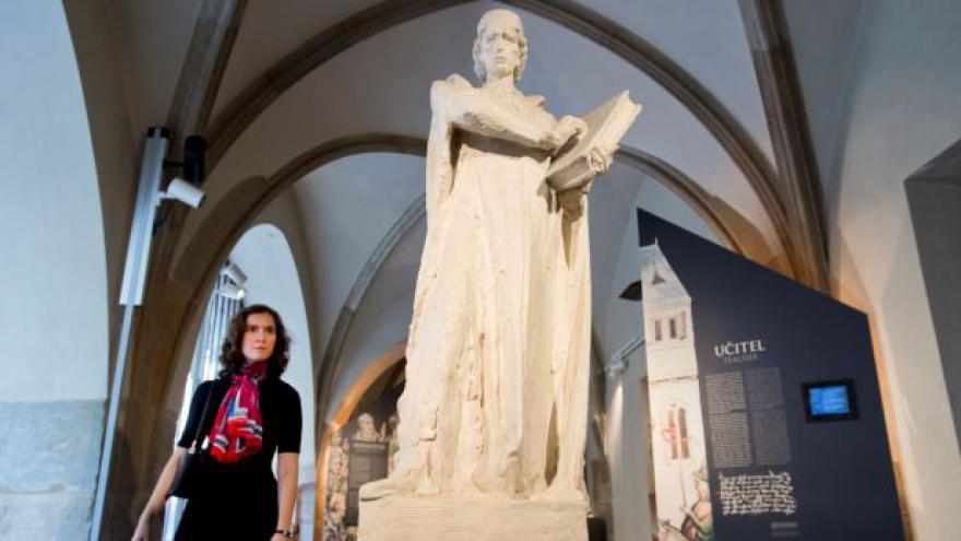 Video Jan Hus jako vysokoškolský pedagog