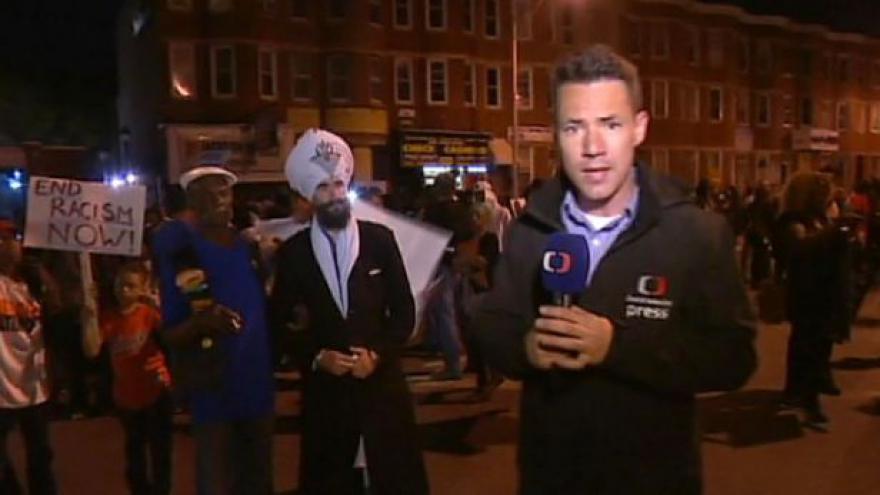 Video Baltimore slavil, ČT byla u toho