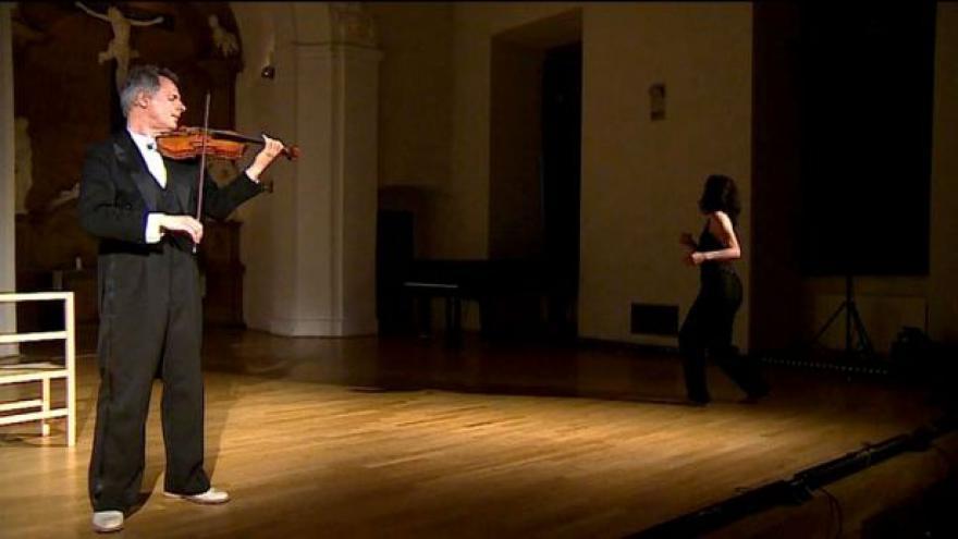Video Bez komentáře: Neobvyklé ztvárnění Bachovy tvorby