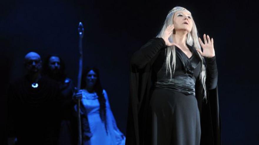 Video Události ČT: V novém nastudování Libuše vystupuje Eva Urbanová