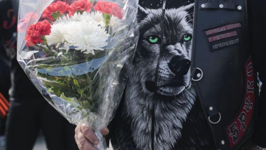 Video Výročí konce války v Berlíně oslavili i Noční vlci