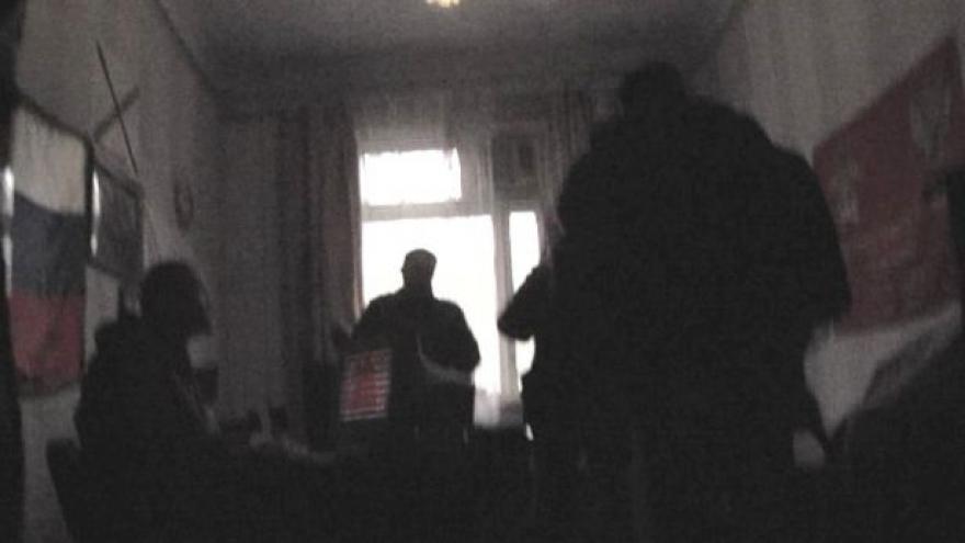 Video Reportéři tajně natáčeli ve štábu donských kozáků