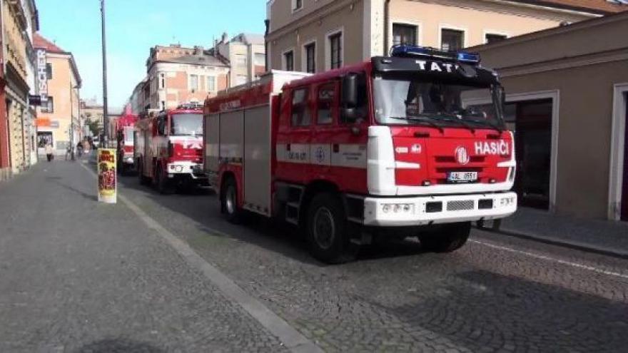 Video Den záchranářů v Kolíně