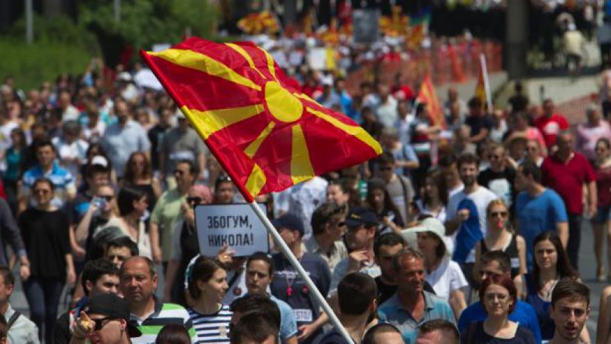 Video Nepokoje v Makedonii tématem Horizontu ČT24