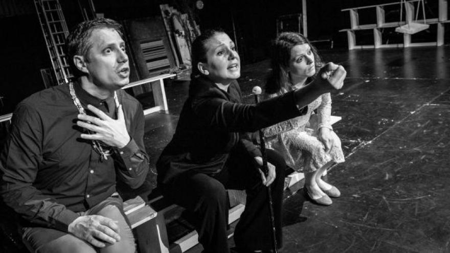 Video Faust a Markétka v Buranteatru