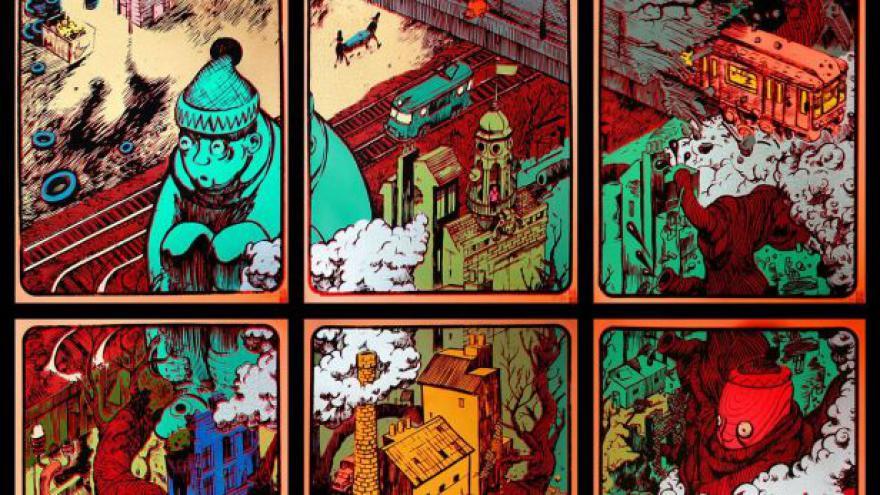 Video Nusle: Místo s největší koncentrací řezníků na komiksovou stránku