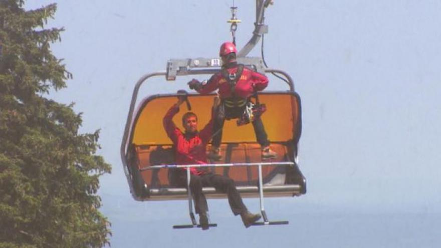Video UDÁLOSTI: Horská služba Krušné hory slaví 60 let