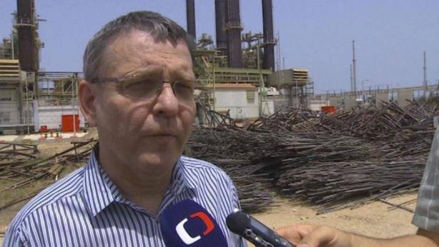 Video Události: Zaorálek si prohlédl zničenou Gazu