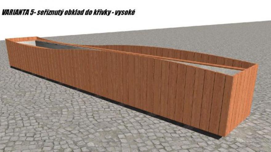 Video Smíchovské truhlíky budou obložené dřevem