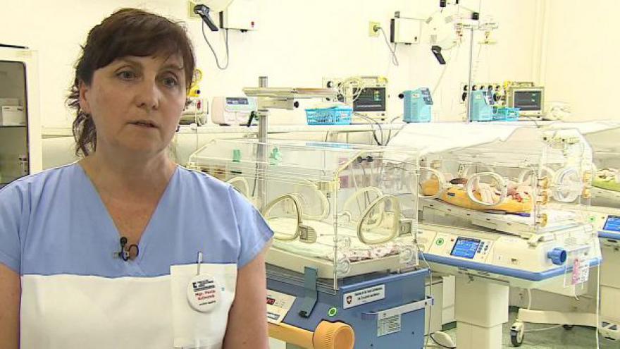 Video O mateřském mléce hovoří vrchní sestra Pavla Krčmová