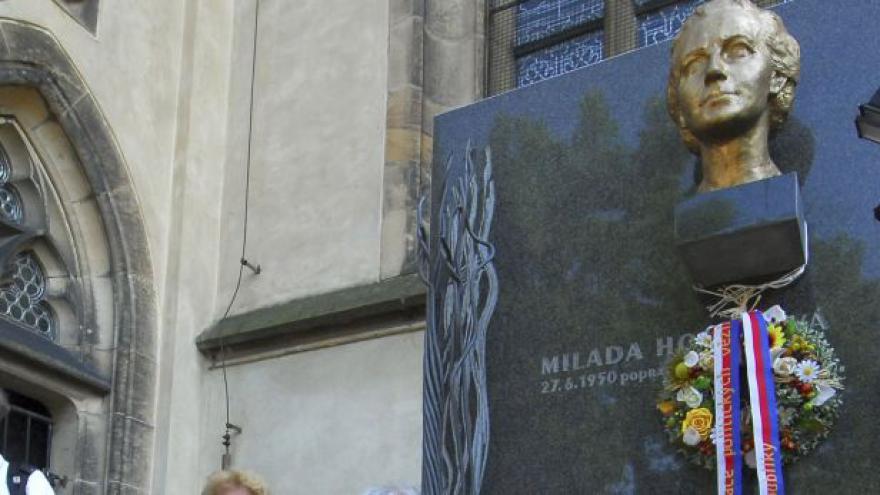 Video Odkaz Horákové se připomínal na Vyšehradě i v Ďáblicích