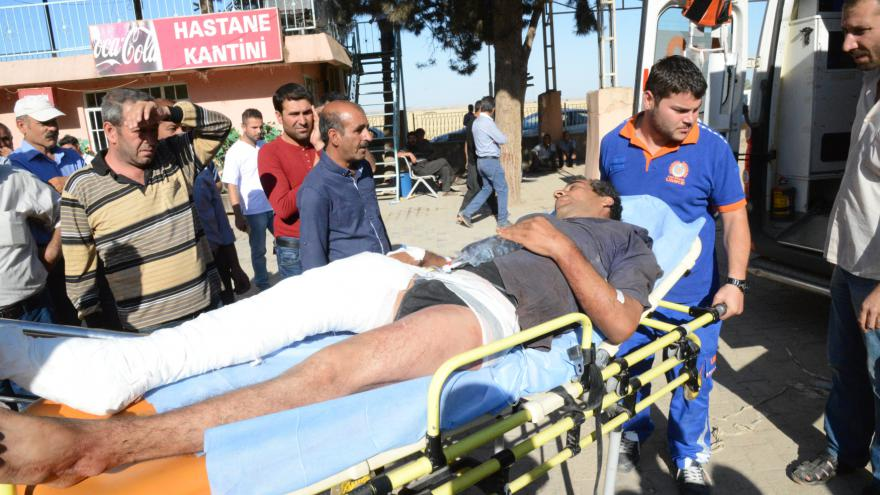 Video Útok v Kobani byl podle aktivistů jeden z nejkrvavějších
