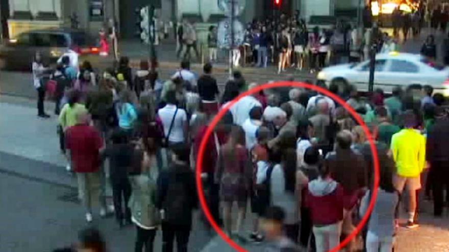 Video Jedno z kritických míst: Frekventovaný přechod u Karlova mostu