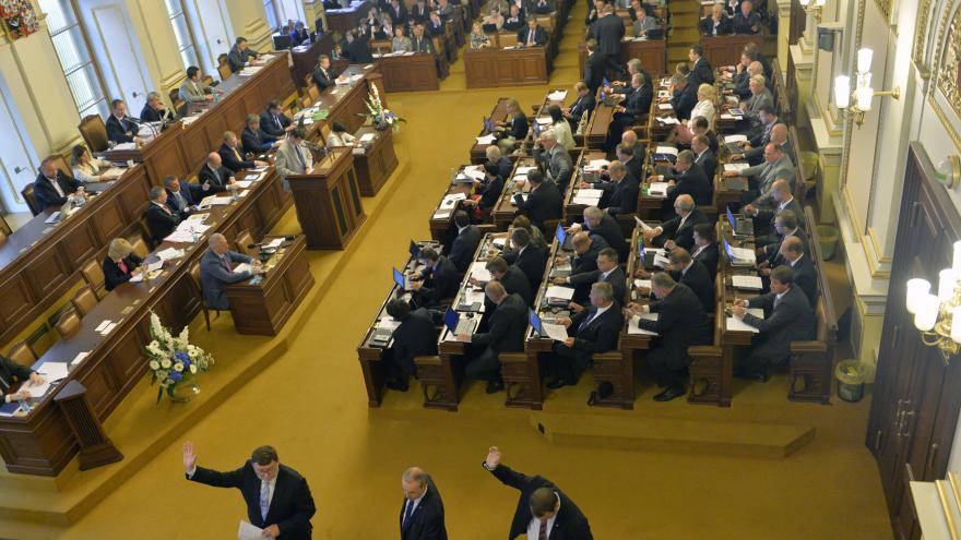 Video ŽIVĚ: Jednání Poslanecké sněmovny