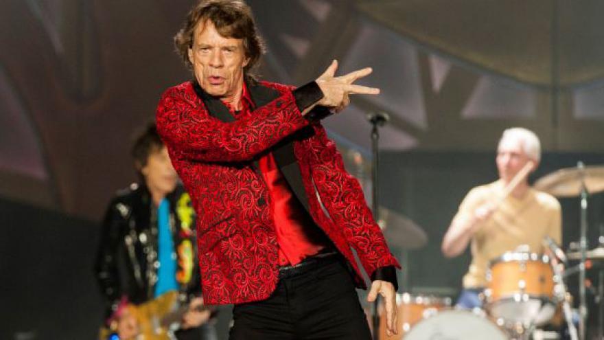 Video Rolling Stones v Saatchi Gallery