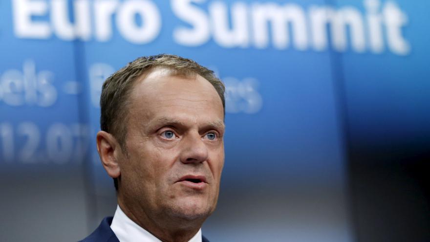 Video Tusk: Řecko má opět důvěru svých evropských partnerů