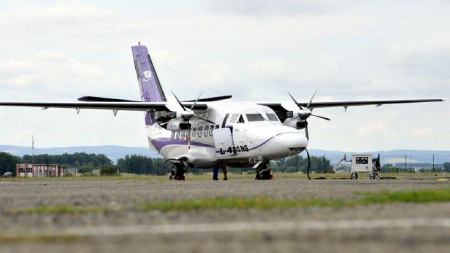 Video Výrobce představil prototyp modernizovaného letounu L- 410