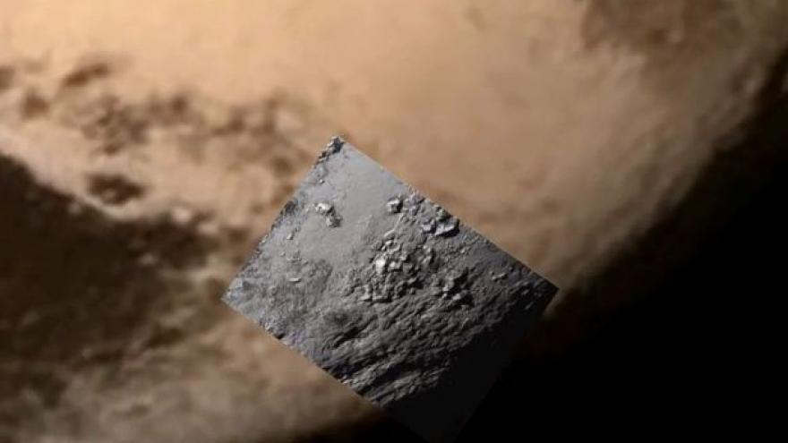 Video První snímek z průletu New Horizons nad Plutem