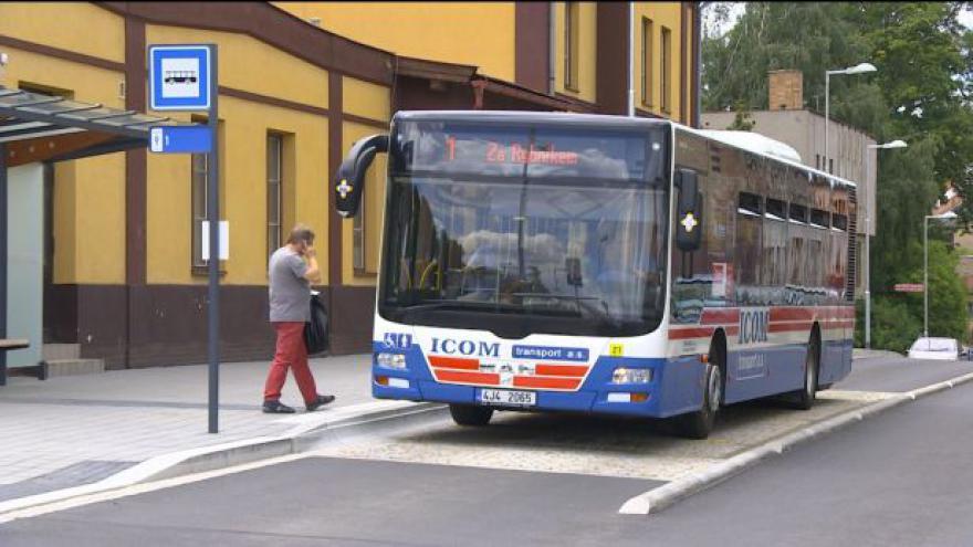 Video Na terminál v Třebíči míří kvůli hygieně jenom jedna linka MHD