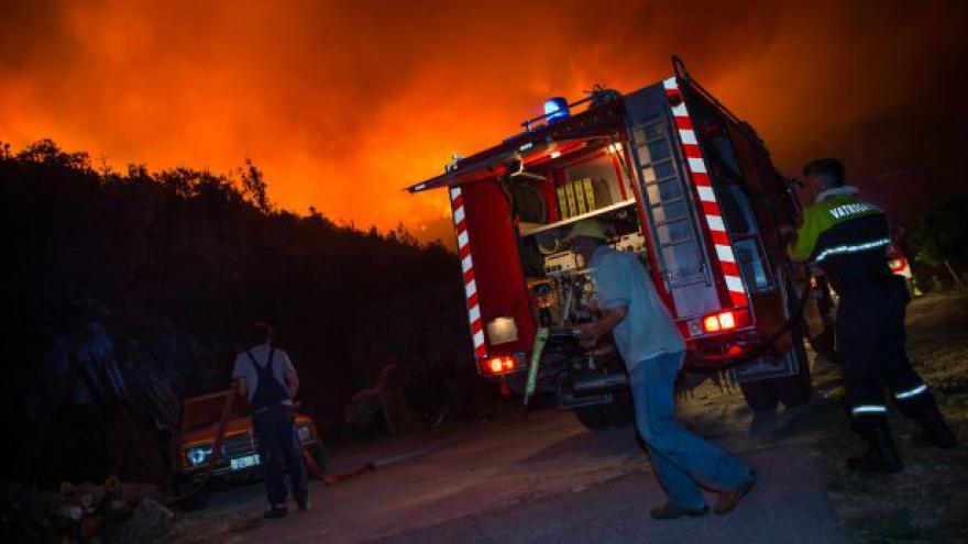 Video Chorvatsko bojuje s požáry