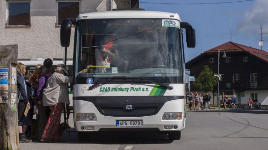 Video Zelené autobusy na Šumavě