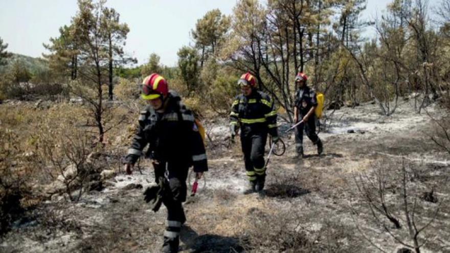 Video Události: Požár na Korčule zřejmě založila mladá žena