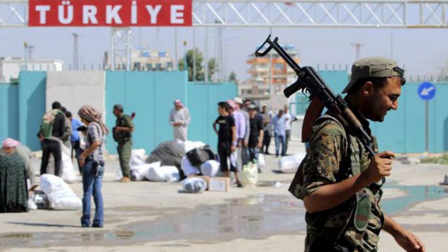Video Kurdové nesouhlasí s tureckými nálety