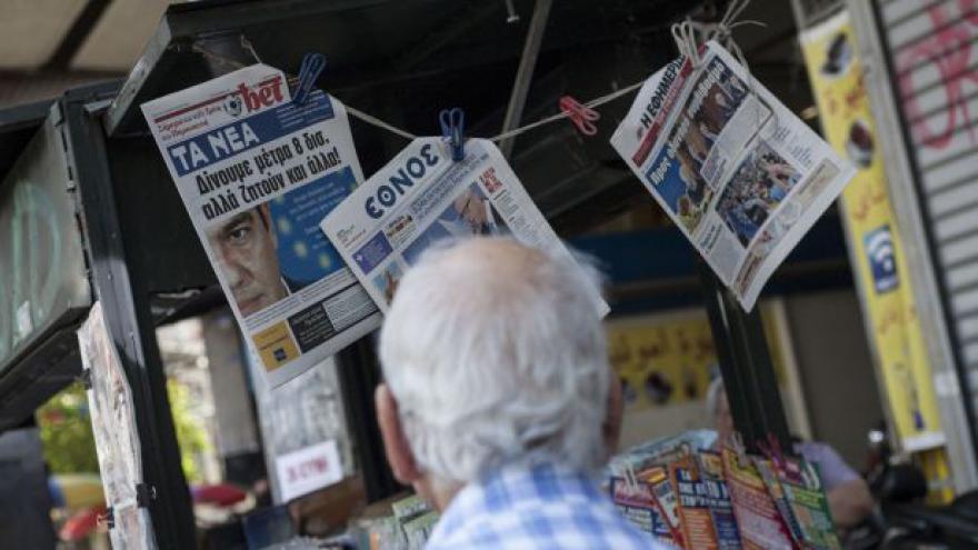 Video Řecko napjatě očekává nedělní referendum