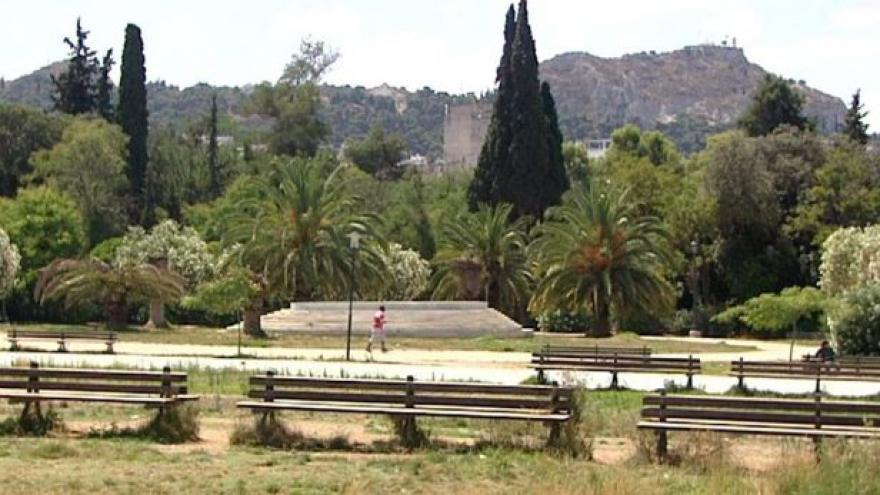 Video Aténský park symbolizuje řecké neúspěchy