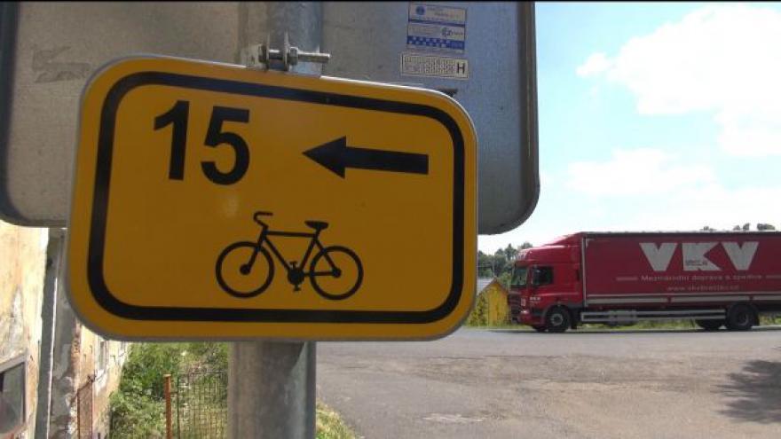Video Problémové úseky na cyklostezce Ploučnice