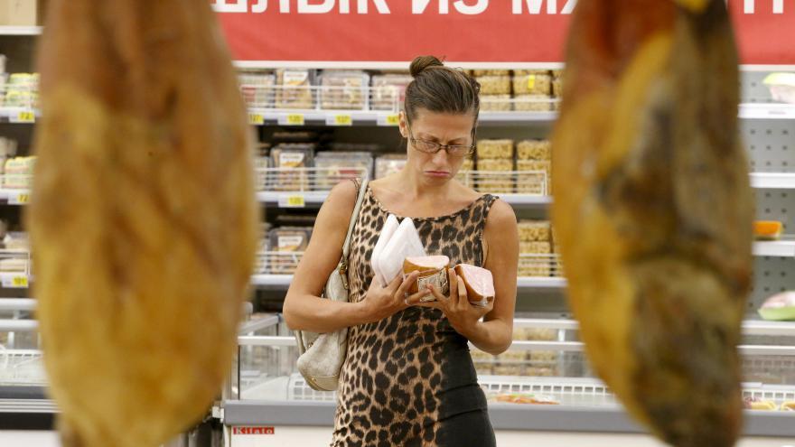 Video Komentář Libora Dvořáka k likvidaci západních potravin v Rusku