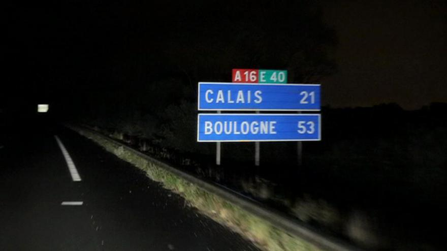 Video Z Calais do Doveru