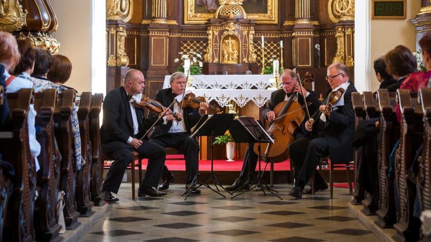 Video Události v regionech (Ostrava) - Haydnovo oratorium zahájilo Svatováclavský hudební festival