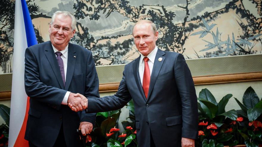 Video Zeman - Putin