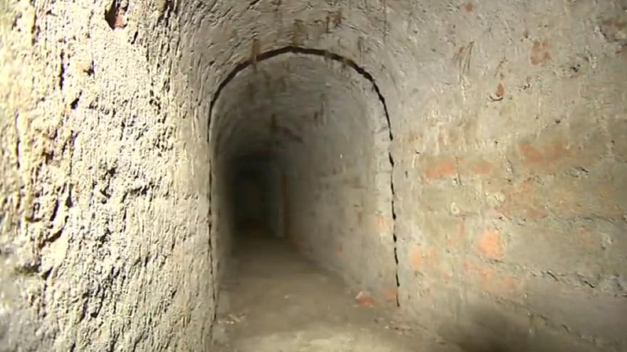 Video Události v regionech (Ostrava) - Spráce Smetanových sadů dokončuje přípravy na zabezpečení podzemních chodeb