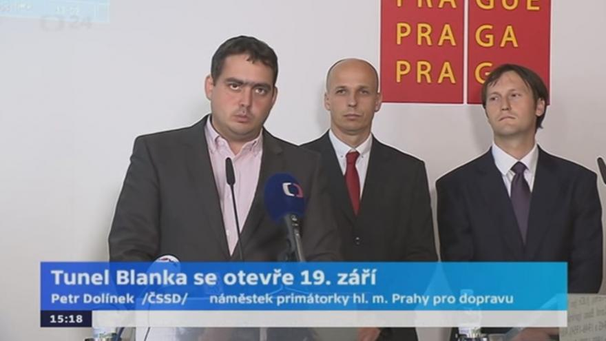 Video Petr Dolínek k tunelu Blanka