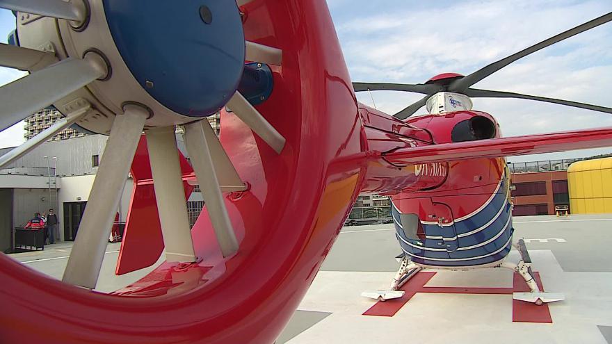 Video Bez komentáře: Nový heliport ve Fakultní nemocnici Brno