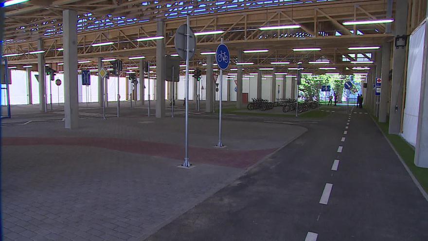 Video Nové brněnské dopravní hřiště