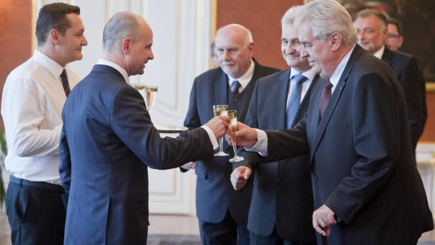 Video Jmenování Jaromíra Jirsy ústavním soudcem