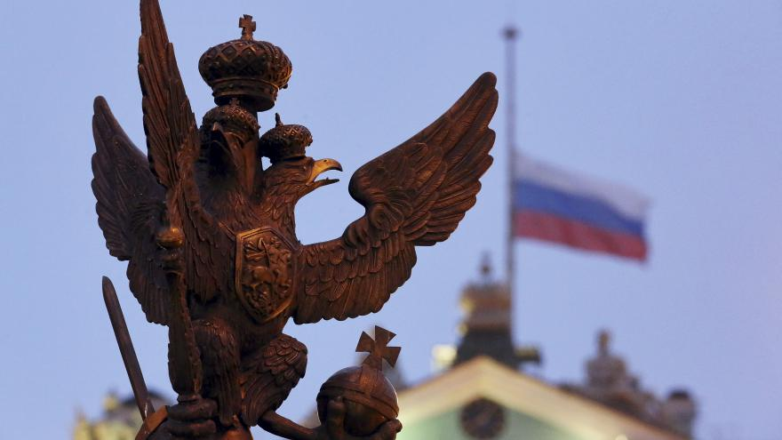 Video Rusko truchlí nad oběťmi letecké havárie