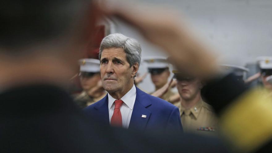 Video Americký ministr zahraničí Kerry: Jsme spojení jako dva prsty na jedné ruce